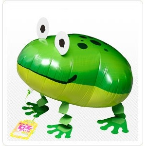 SAG Walking Balloon - Frog 青蛙 , *SAG-W2383 <Helium #F>