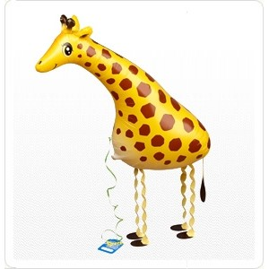 SAG Walking Balloon - Giraffe 長頸鹿 , SAG-W8832 <Helium #F>