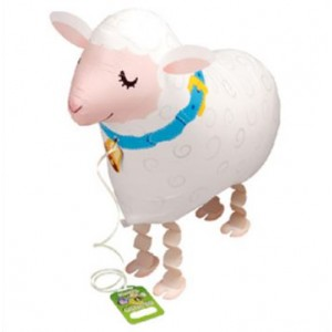 SAG Walking Balloon - Sheep 小綿羊 , *SAG-W8838 <Helium #F>