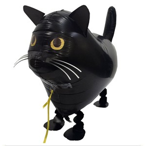 SAG Walking Balloon - Black Cat , *SAG-W8843