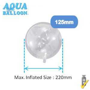 Aqua Balloon Round 125mm , TK-AQ-R320001
