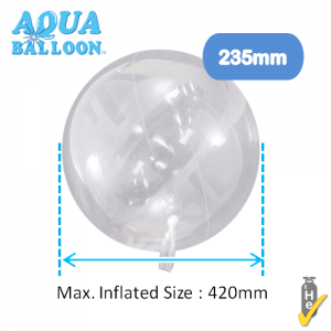 Aqua Balloon Round 235mm , TK-AQ-R320011