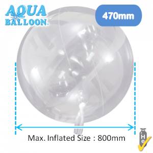 Aqua Balloon Round 470mm , **TK-AQ-R320012