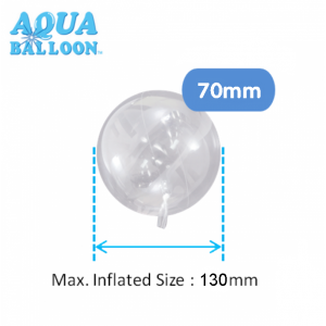 Aqua Balloon Round 70mm , *TK-AQ-R320013