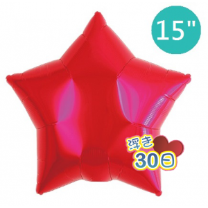 "ibrex Star 15"" 星形 Metallic Red , TKF15SP313201 <Helium #B>"