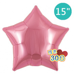 "ibrex Star 15"" 星形 Metallic Pink , TKF15SP313216 <Helium #B>"