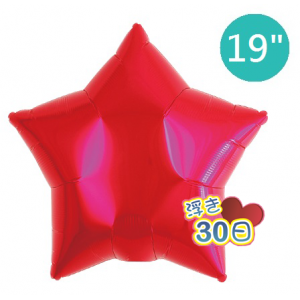 "ibrex Star 19"" 星形 Metallic Red , TKF19SP311206 <Helium #B>"