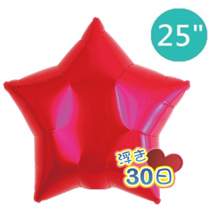 "ibrex Star 25"" 星形 Metallic Red , TKF25SP317701 <Helium #B>"