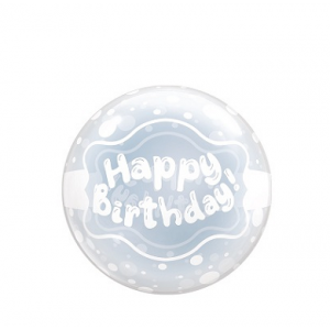 T-Balloon Round-Printed 400mm Happy Birthday (10ct) , TK-TB-RI410014