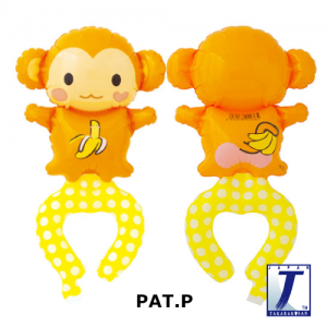W.A.F. Playful Monkey (10ct) , TK-WAF-110009 <Air #A>